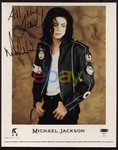 Michael Jackson Signed 8x10 Photo reprint