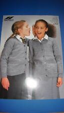 Hayfield Children'S Cardigan Knitting Pattern 1191