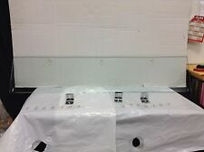 Pottery Barn PB Stanton Glass Bathroom Bath Single Storage Shelf 48x10
