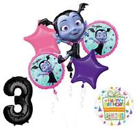 Mayflower Products Vampirina 3rd Birthday Balloon Bouquet  and Party Supplies