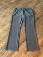 Women's Liz Lange Maternity Brown Pants Size 6