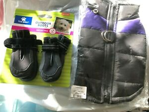 Top Paw Outdoor Dog Boots Reflective M NEW Dog Coat M New