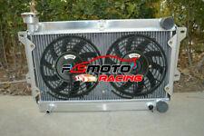 Alu Radiator + FAN For Mazda RX2 RX3 RX4 RX5 RX7 Serives 1 2 3 12A 13B 1971 1972