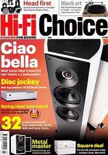 HI-Fi Choice magazine with Thorens TD 150 Grado SR60i Naim Uniitlite March  2013