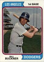1974 Topps #505 Bill Buckner - EX