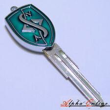 Nissan 200SX S13 S14 S15 Silvia Skyline R32 R33 Key Blank S Logo Green Colour