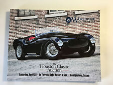 Worldwide Car Auction Houston Classic 2015 Mint Catalog Lamborghini Yenko Shelby