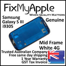 Samsung Galaxy S3 i9305 White Mid Frame Bezel Housing Middle Bracket Replacement