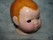 Vintage German Bisque Doll Head ~ Marked Made in Germany Grace S Putnam