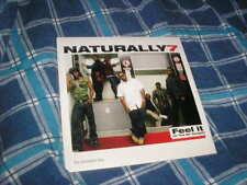 CD Pop Naturally 7 Feel It 1 Song Promo EMI VIRGIN
