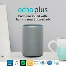 Amazon Echo Plus Gen 2 Smart Assistant Speaker Alexa built in home hub Grey