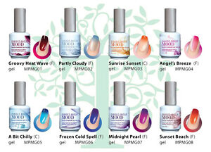 LeChat Perfect Match MOOD 1 - 60 Color Changing Gel Polish UPDATED