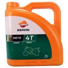 Repsol Moto Rider 4T 15W-50 4 LITRI