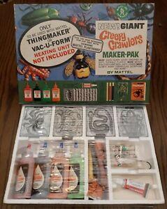 Vintage 1965 Mattel New Giant Creepy Crawlers Maker-pak  **SEALED**