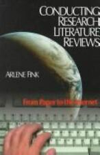 Conducting Research Literature Reviews: From Paper to the Internet-ExLibrary