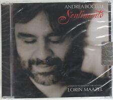 ANDREA BOCELLI SENTIMENTO CD F.C SIGILLATO!!!