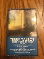 Terry Talbot Sings Stories Of Jesus Cassette Ships N 24h