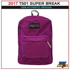 2017 JANSPORT T501 Superbreak BACKPACK Student School Bag 100% AUTHENTIC
