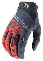 TROY LEE DESIGNS TLD MENS ORANGE GRAY WEDGE MTB CYCLING AIR GLOVES size SMALL