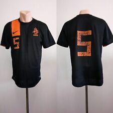 Football shirt soccer Netherlands Holland Away 2012/2013 Jersey Nike Size M #5