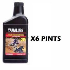 6 Pint Bottles Yamalube 2R 2 Stroke Racing Oil 16oz 2-R pint YZ KX RM CR KTM