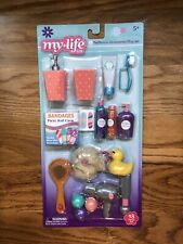 "My Life As Bathroom Accessories Play Set for 18"" Dolls, 18 Pieces, American Girl"