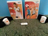 Nintendo Wii EA Sports Active Personal Trainer Bundle