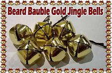 Secret Santa beard Baubles Gold bells Mens Christmas Gift Stocking Fillers Xmas