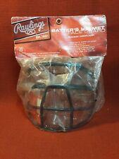 Rawlings Batter's Helmet Face Guard Black Baseball Softball