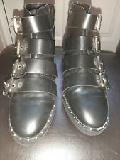 Ladies Black Boots Size 3.5