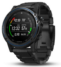 Garmin Descent Mk1 Versatile GPS w/ Metal Black Band Dive Watch 010-01760-01