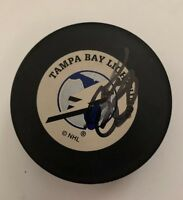 Andre Roy Autographed Signed Tampa Bay Lightning Puck