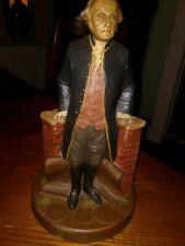 Tom Clark George Washington Masonic President Signed By Artist Vg