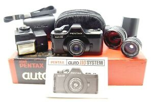 PENTAX 110 AUTO SYSTEM SMALL CAMERA OUTFIT - UK DEALER