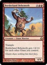 MTG: Borderland Behemoth - Red Rare - Morningtide - MOR - Magic Card