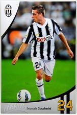 Cartoncino Juventus Stagione 2011/12 - Emanuele Giaccherini