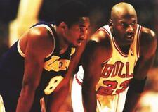 Kobe Bryant VS Micheal Jordan A3 poster stampa HAL475