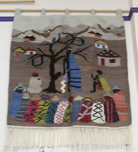 African Tapestry - Wall Hanging - King Speaks