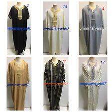 Men Moroccan thobe Jubba Arab robe kaftaan muslim dress  Size 54