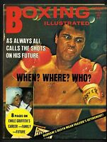 BOXING ILLUSTRATED MAGAZINE NOVEMBER 1973 MUHAMMAD ALI