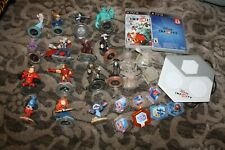 disney infinity lot ps3 with the game platform and many figures