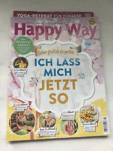 Happy Way, Magazin/Zeitschrift,Nr. 02/April,Mai,Juni 2021,Ich lass mich jetzt so