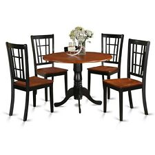 5 Piece Kitchen Nook Dining Set-Kitchen Table And Kitchen 4 Chairs NEW