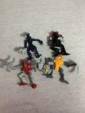 McDonalds Bionicle Toy Figures lot Of 4 2006-2007