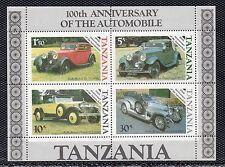 Tanzania Automoviles Coches año 1986 (BZ-200)