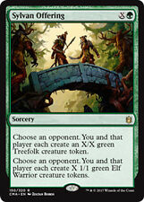Sylvan Offering (Waldverbundenes Präsent) Commander Anthology Magic