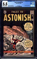 Tales to Astonish #36 CGC 5.5 Marvel 1962 3rd Antman! Avengers! Wasp! M7 218 cm