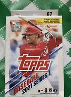 ✅⚾️🔥2021 Topps Baseball Series 1 Hanger Box- 67 Cards Per Box- **FREE SHIP!**