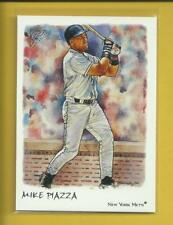 New York Mets Gray Jersey Catcher's Gear 2002 Topps 206 #TR-MP.3 Mike Piazza