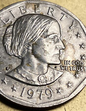 Susan B Anthony Dollar Double Struck W Antique Christian Challenge Coin Errors